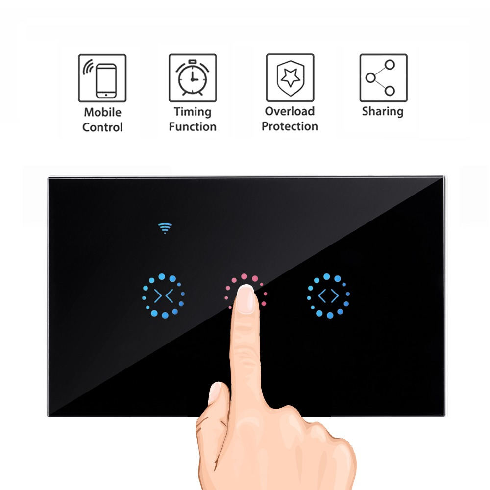 Ewelink APP US Smart Wifi Electric curtain switch   Support Alexa Google Home for Electric  MotorizedBlind Roller ShutterEwelink APP US Smart Wifi Electric curtain switch   Support Alexa Google Home for Electric  MotorizedBlind Roller Shutter