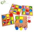 Деревянная обучающая доска геометрической формы, пазл для строительства, обучающие игрушки для младенцев и детей, LYQ
