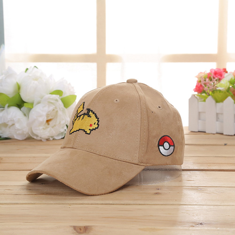 5e5ad2b7 Aliexpress.com : Buy Summer Cute Cat Run Pikachu Pattern Baseball Cap  Casquette Casual Snapback Hats for Men Women Cool Polo Hockey Hip Hop Dad  Hat from ...