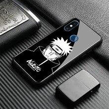 Pain naruto character Pein Tempered Glass Soft Silicone Cover Phone Case Shell For Xiaomi Mi 6 8 Explorer SE Mi Mix2 2S Max3