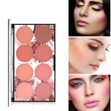 ZHENDUO 8 Colors palette makeup blush Long-lasting Transparent Natural Moisturizing Blusher make up rouge