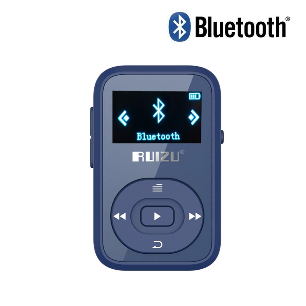Original RUIZU X26 Mini Clip Reproductor de MP3 Bluetooth de 8 gb con - Audio y video portátil - foto 5