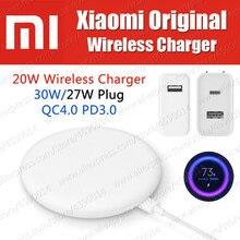 Stock 30W 27W Plug Original Xiaomi Wireless Charger 20W Max