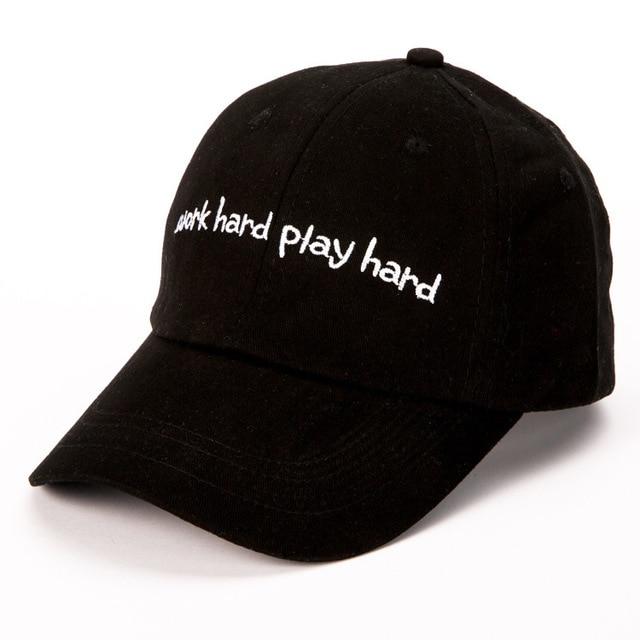 New Summer Fashion Lovers Sun Hat Women Sunscreen Hats Work Hard Letter  Curved Eaves Men Cap snapback caps hip hop casquette d8c46d67d7