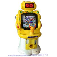Cheap Price Mini Amusement Device Small Coin Operated Gun Shooting Game Machine For Kids