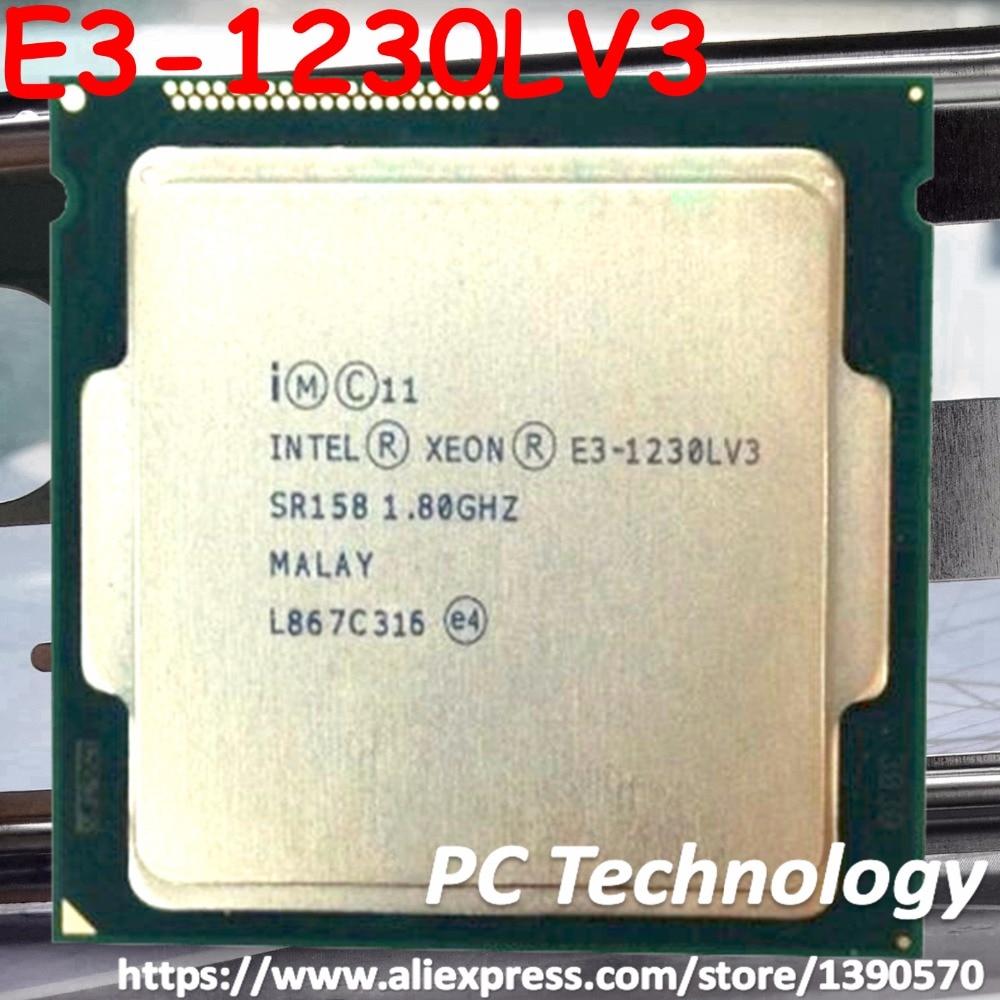 Original Intel Xeon Processor E3 1230LV3 1.80GHz 8M LGA1150 E3 1230L V3 CPU E3 1230LV3 E3 1230L V3 free shipping-in CPUs from Computer & Office    1