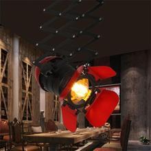 Retro Industrial Ceiling Light Living Room Lights E27 Lampara Techo Plafonnier LED Suspension Luminaire Art Gallery Lamp