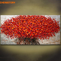 Unframed Thick Textured Modern Hand Painted Palette Knife Oil Painting Canvas Wall Art Picture For Living