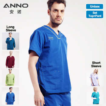 Nursing Uniform Medical Female Male Scrubs Suit Nurse Scrubs For Woman and Man Dentist Clothes Surgical Gown Shirt Pant Costumes - DISCOUNT ITEM  10% OFF All Category