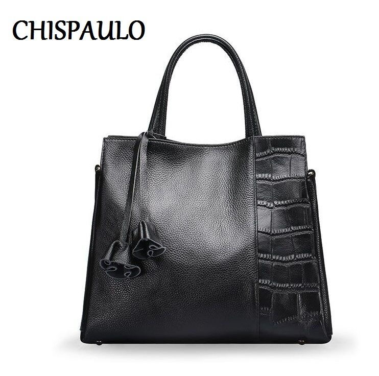CHISPAULO Women Bags Brand 2017 Designer Handbags High Quality Fashion Genuine Leather Bags For Women Messenger Bags Ladies H011 popular small bag for ladies 2016 fashion women messenger bags genuine leather designer handbags brand