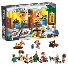 342pcs DIY Advent Calendar 11012 Model Building Blocks Toys Bricks Compatible with Legoings