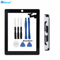 Netcosy Tablet Touch Panel For Ipad 2 A1395 A1396 A1397 Touch Screen Digitizer Without Home Button