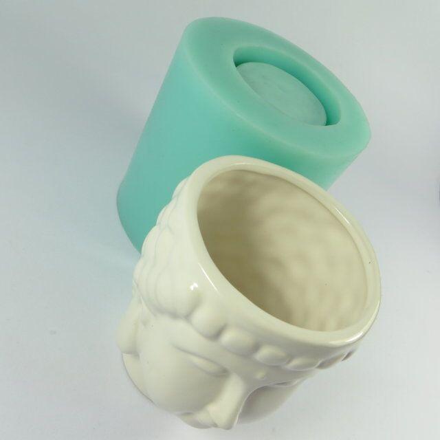 Szilikagél szilikon öntőforma 3d váza öntőformák cement - Konyha, étkező és bár - Fénykép 5