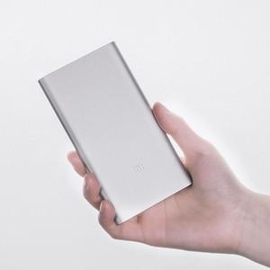 Image 2 - Xiaomi güç kaynağı 5000mAh 2 PLM10ZM taşınabilir şarj cihazı ince xiaomi güç bankası 5000 ı ı ı ı ı ı ı ı ı ı ı ı ı ı ı ı ı ı ı ı polimer harici pil ile silikon kılıf