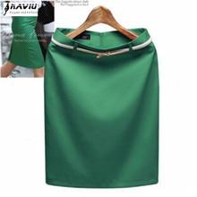New Fashion Women Business Suit Pencil Skirt Elegant  Vocational OL Skirts Include Free Belt Plus size S XXXL 8 color