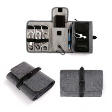 Travel Cable Organizer Portable Electronics Accessories Carry Pouch Bag Cosmetic