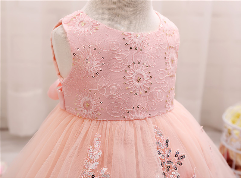 d54bdb18c9a1 Baby First Birthday Party Dress Toddler Girl 2 Year Special Occasion ...