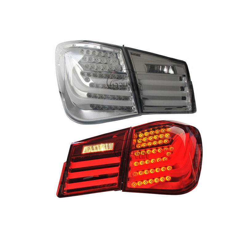 For Chevrolet Cruze 2009 2010 2011 2012 2013 2014 Car TailLights Auto Tail light Assembly Rear Brake Lamp on Car Rear lights kit car auto accessories rear trunk trim tail door trim for subaru xv 2009 2010 2011 2012 2013 2014 abs chrome 1pc per set