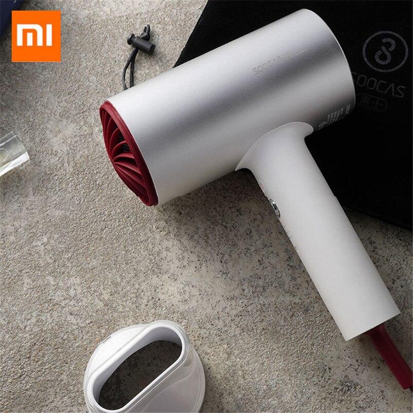 Nuevo Original Xiao mi jia Soocas anión pelo H3 de pelo herramientas 1800 W para Xiao mi smart Home Kits mi diseño secador Z30