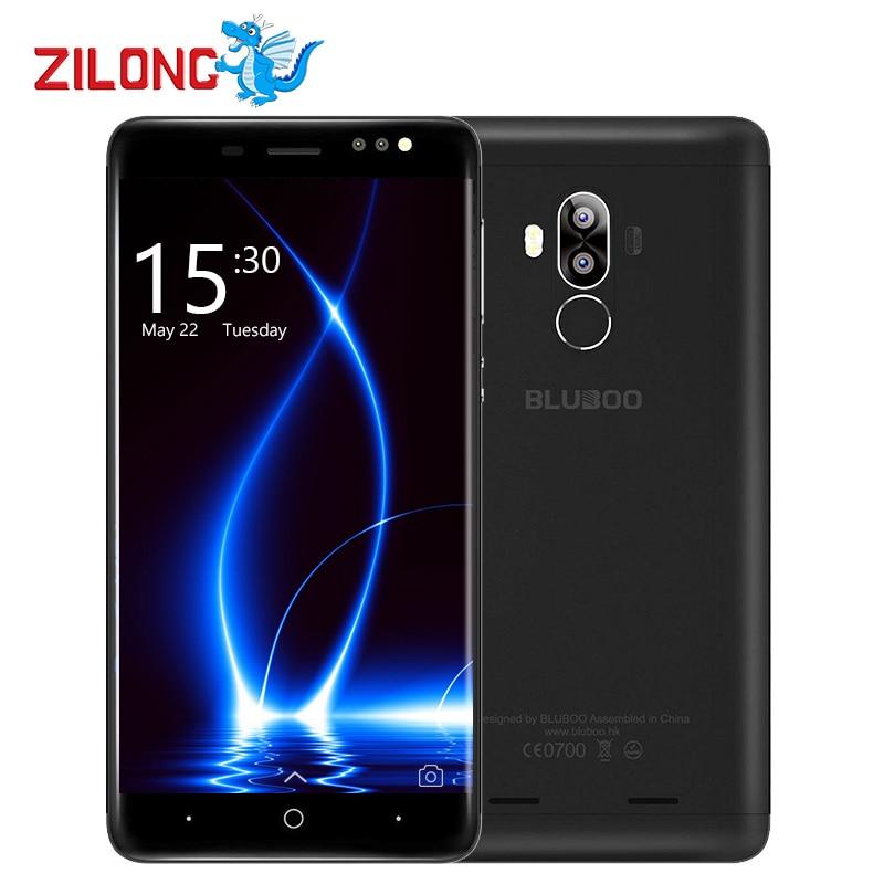 bilder für Bluboo D1 Smartphone 3G MTK6580A Quad Core 5,0 Zoll 1280*720 Android 7.0 2 GB RAM + 16 GB ROM Hinten Dual Kameras 2600 mAh Handy