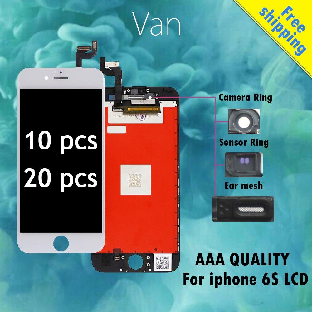 10 20 pcs Tianma A + Qualité Pas de Dead Pixel Affichage pour iPhone 6 s LCD de Remplacement avec 4.7 pouce 3D Tactile Écran Livraison DHL