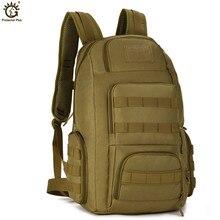 Askeri taktik sırt çantası 40L 14 inç dizüstü sırt çantası su geçirmez naylon erkekler seyahat sırt çantası sırt çantası Mochila Hombre
