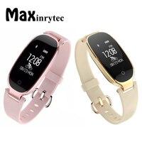Maxinrytec S3 Smartwatch Fashion Women Ladies Bluetooth Smartwrist Waterproof Heart Rate Monitor Smart Watch Fitness Tracker