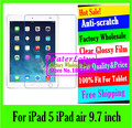 For iPad 5 iPad air iPad5 iPadair Matte Anti-glare screen protector de pantalla protective film tablet plate pelicula notbook