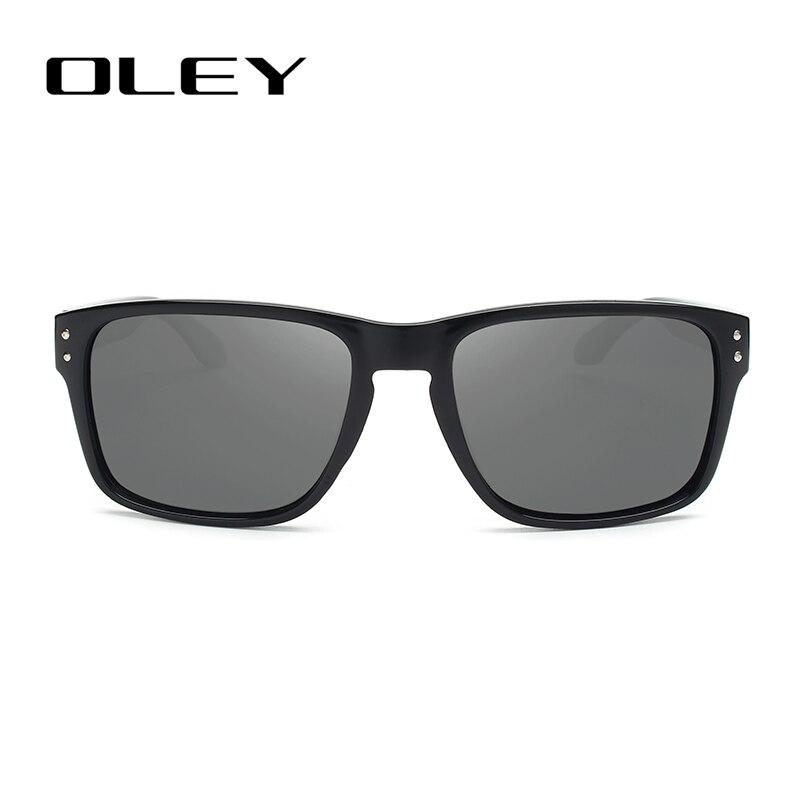 22fb4ad01d65d OLEY Classic Polarized Sunglasses Men Glasses Driving Coating Black Frame  Fishing Driving Eyewear Male Sun Glasses ...