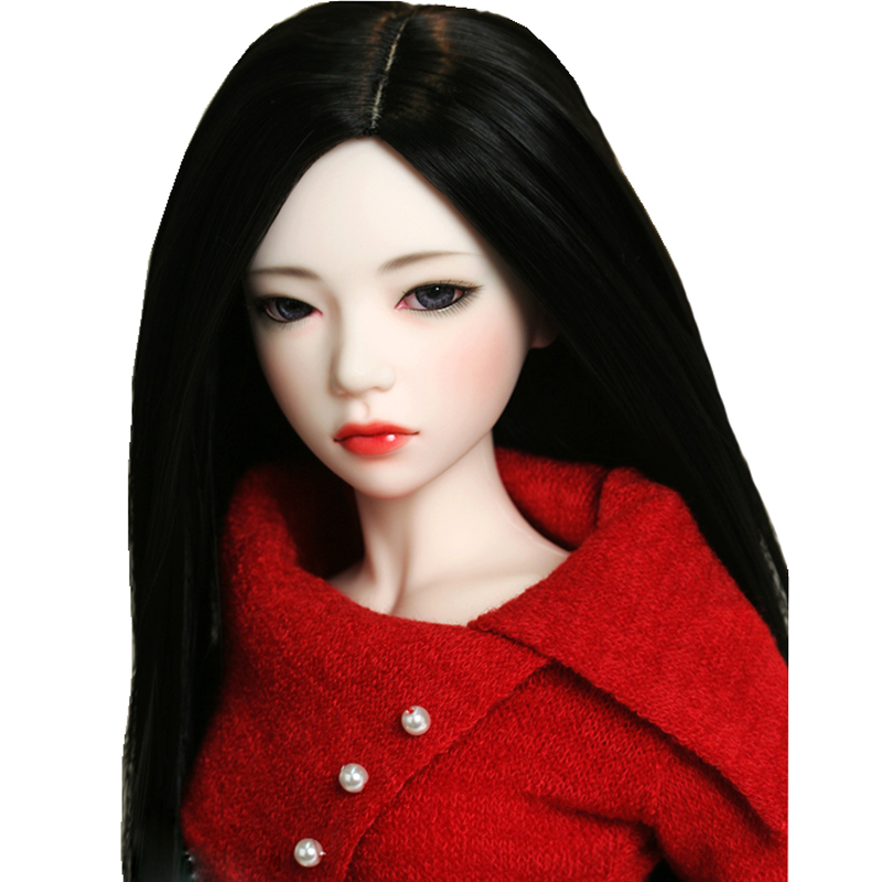 Free Shipping 1/4 BJD Doll BJD/SD Fashion Style With Eyes Doll For Baby Girl Birthday Gift
