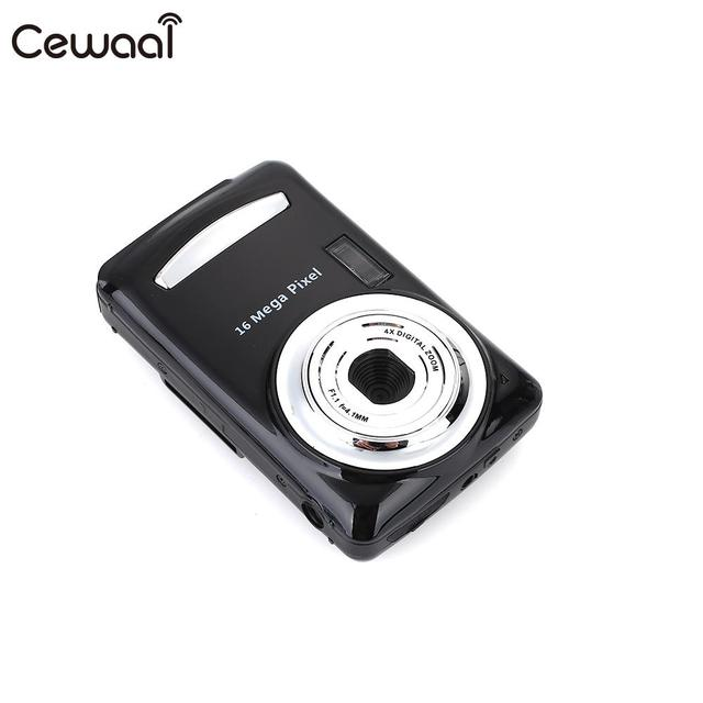 Cewaal Digital Cameras 2.4inch Screen 16M Pixel Ultra Photo DVR Precise Stable HD Camera