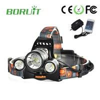Linterna Frontal Led 6000 Lumens Headlamp 3L2 Headlight 3 X Cree XM L2 Head Lamp Camping