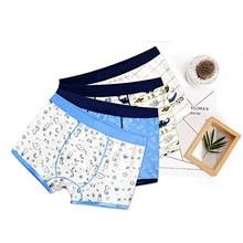 2018 2pcs/lot Fashion Boys Underwear Boxer High Quality Cotton Modal Panties Chi