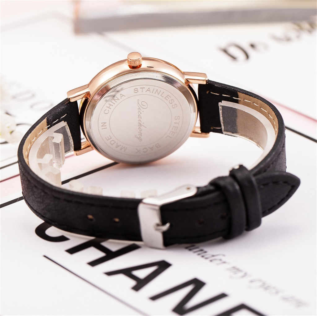 יוקרה נשים שעון שמלת צמיד שעון אופנה פשוט אופנה Creative גבירותיי שעון פרח יצירתי דפוס קוורץ שעון #50