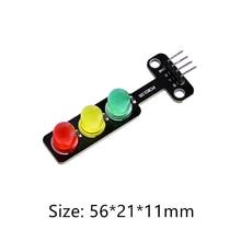 Светодиодный светильник, модуль, размер 56*21*11 мм, красный, желтый, зеленый, Лидер продаж