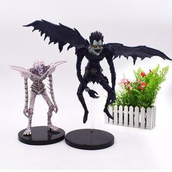 2 стиля смерти Примечание L Ryuuku Ryuk Rem фигурка Статуэтка из ПВХ Коллекционная модель подарок на Рождество игрушки для детей