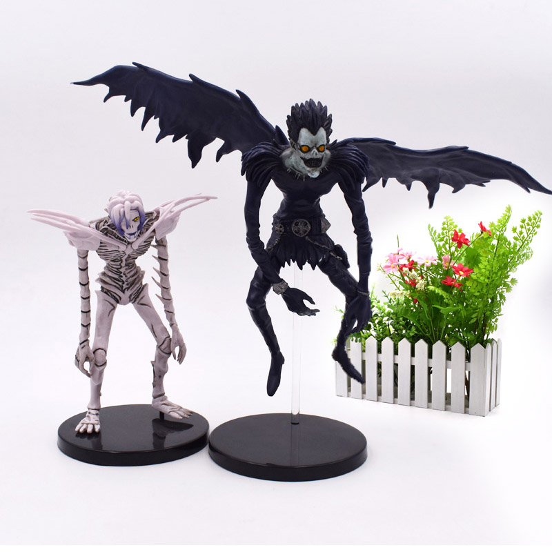 2 Styles Death Note L Ryuuku Ryuk Rem Action Figure PVC Figurine Collectible Model Christmas Gift Toys For Children