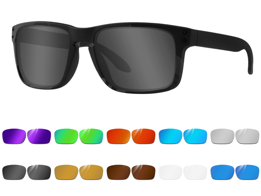 588b11f095 Glintbay Performance Polarized Replacement Lenses for Oakley Holbrook  Sunglass - Multiple Colors
