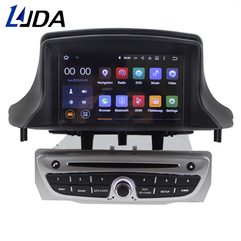 LJDA 7 Inch 2 Din Android 7 1 font b Car b font DVD Player For