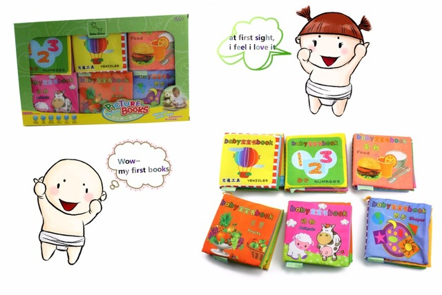 Free Shipping early learning educational read love stories baby quiet books  toys for baby