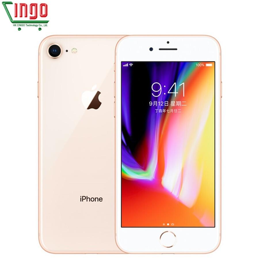 Original Apple iPhone 8 2GB RAM 64GB/256GB 4.7 inch IOS 11 3D Touch ID LTE 12.0MP Camera Hexa-core Apple Fingerprint 1821mAh