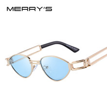 MERRYS DESIGN Men/Women Steampunk Sunglasses Vintage Sunglasses UV400 Protection S6171(China)