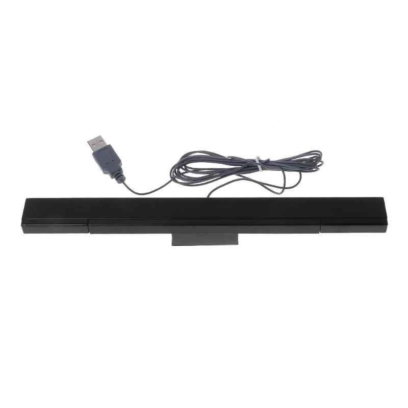 Wired Infrared IR Signal Ray Sensor Bar/Receiver Wired Sensors Receivers Gamepads for Nitendo Wii Remote