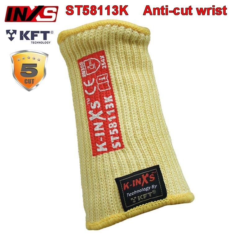 SAFETY INXS Level 5 Anti-cut Wrist High Temperature Resistance 100 Degree Wrist Cuff EN407/EN388 Level Anti-cut Wrist