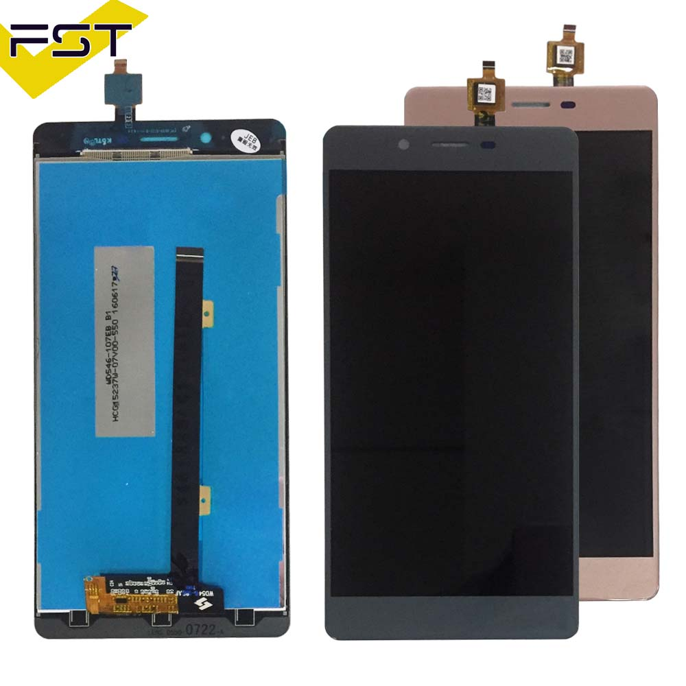 100% Tested Well High Quality For Archos 55 Cobalt Plus LCD Display with Touch Screen Digitizer Assembly with Tracking +Tools
