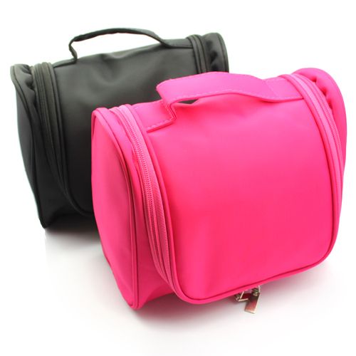 Freeshipping 2013 New Portable Cosmetic Bag Hanging Toiletry Travel Organizer Bags in Wash makeup bag Case With Hook