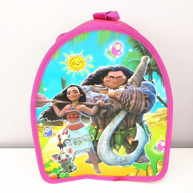 Wholesale Moana,Trolls,Pokemon Cartoon Drawstring Backpack small bag party favor