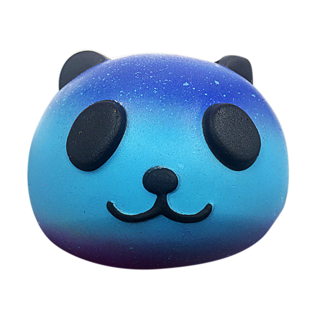 Cute Starry Panda Squeeze Toy Baby Cream Scented Squishy Slow Rising Squeeze Kids Toy Wipes Anti-stress Toys For Kids Child A1