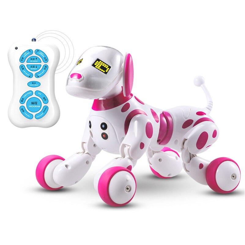 Nouveaux animaux de compagnie électroniques RC Robot chiens se tiennent à pied mignon interactif Intelligent chien Robot jouet Intelligent sans fil jouets électriques pour les enfants - 3