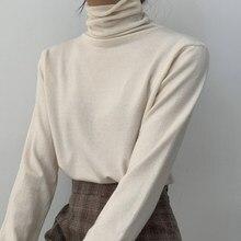 Женские свитера, сексуальные женские водолазки с длинными рукавами, пуловеры, Корейская уличная одежда, шикарные топы, джемперы, женская зимняя одежда